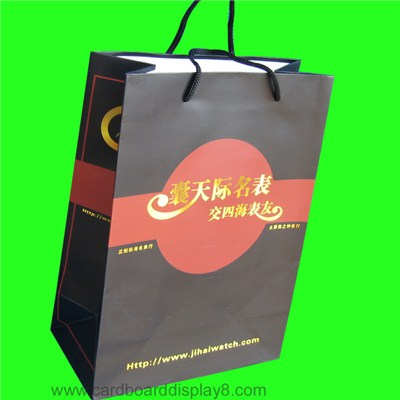 Customized Paper Gift Bag, Gift Bag Printing For Watch