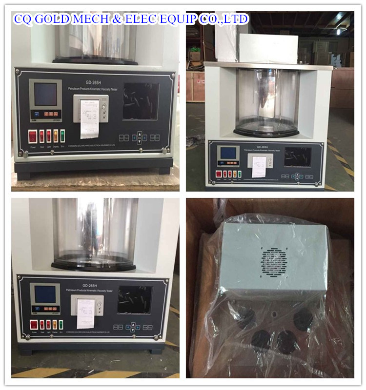 GD-265H Automatic Petroleum Oils Kinematic Viscometer