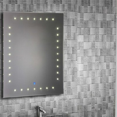 Aluminium Bathroom LED Light Mirror (GS012)