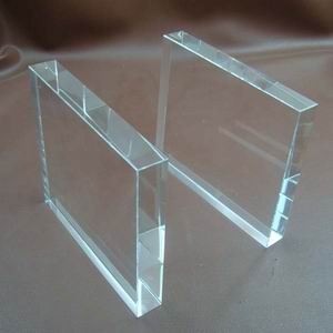 Glass Plaques And Awards Blank Crystal Plaque