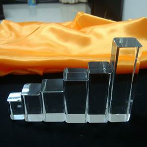 Rectangle Blank Crystal