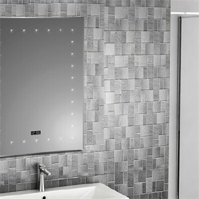 Aluminium Bathroom LED Light Mirror (GS025)