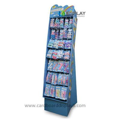 High Quality Portable Print Cardboard Accessory Display Racks