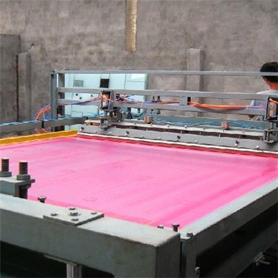 Multicolored Silk screen printing glass