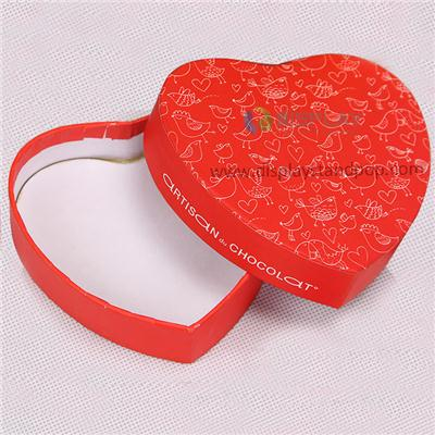 China Factory Wholesale Heart Shaped Chocolate Box For Gift Packaging