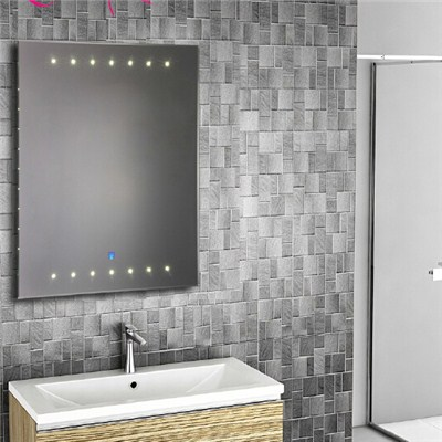 Aluminium Bathroom LED Light Mirror (GS016)
