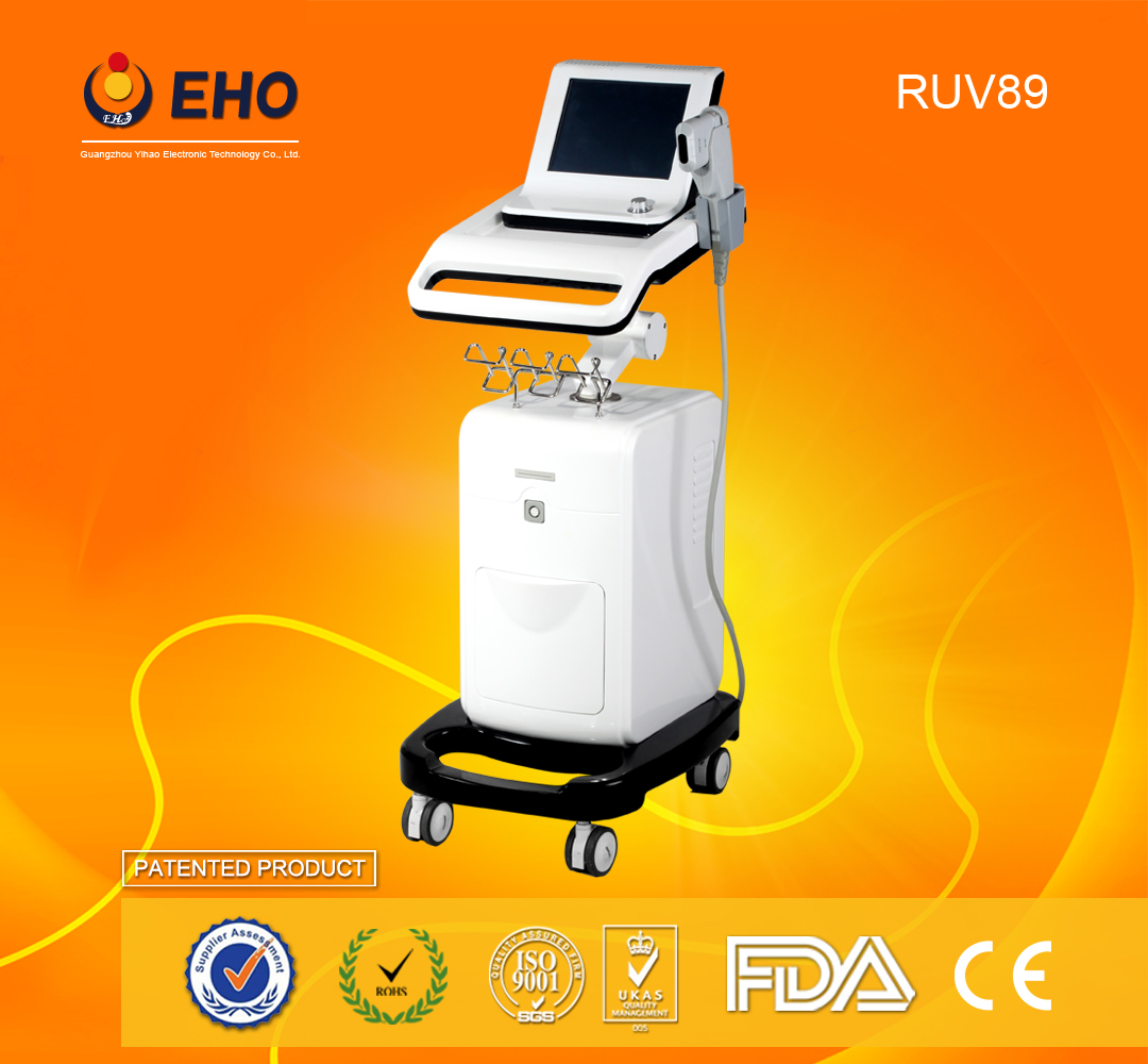 RUV89 hifu ultrasound skin tightening machine hifu system