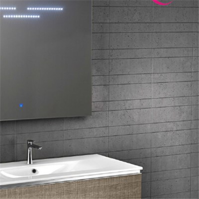 Aluminium Bathroom LED Light Mirror (GS007)
