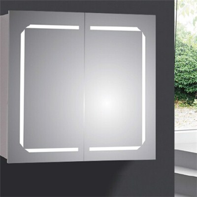 Aluminium Bathroom LED Light Mirror (A-8002)