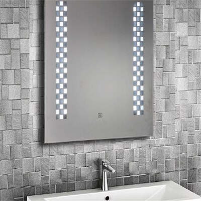 Aluminium Bathroom LED Light Mirror (GS059)