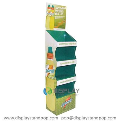 Custom Promotional Food Items Cardboard Stand Display