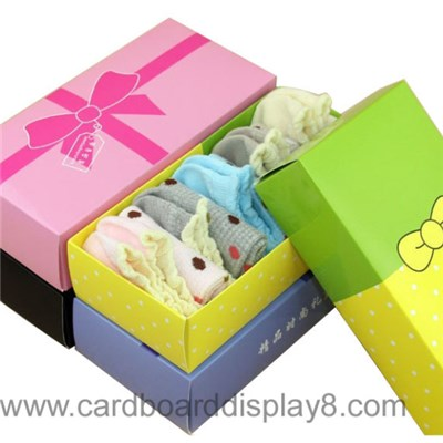 Professional Factory Paper Socks Box