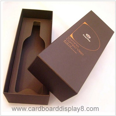 Wholesale Custom Cardboard Wine Boxes, Paper Boxes For Wine Bottles