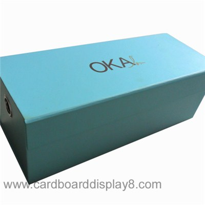 Custom Made High Quality Paper Folding Gift Box