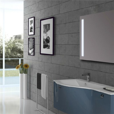 Aluminium Bathroom LED Light Mirror (GS053)