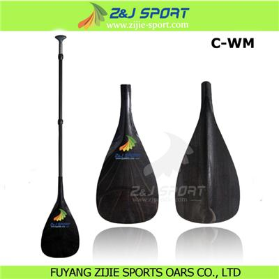 3 Piece Adjustable Carbon Fiber Stand Up Paddle
