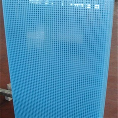 Screen printing glass color