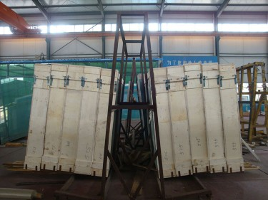 Soundproof PVB Film Laminated Glass