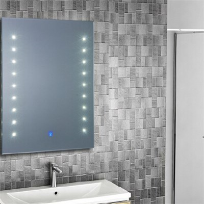 Aluminium Bathroom LED Light Mirror (GS002)