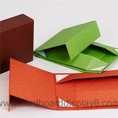 Custom All Color Cardboard Folding Gift Box
