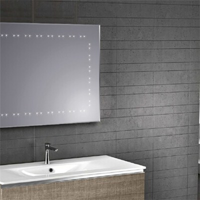 Aluminium Bathroom LED Light Mirror (GS018)