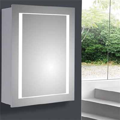 Aluminium Bathroom LED Light Mirror (A-8003)