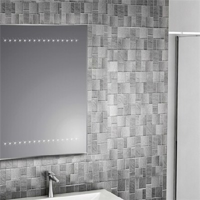 Aluminium Bathroom LED Light Mirror (GS019)