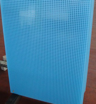Cabinet screen printing glass