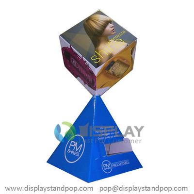 Personalized Corrugated Cardboard Advertising Display Standees, Cardboard Cubes