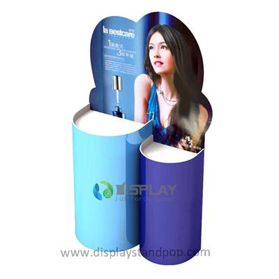 Custom Retail Promotion Pos Cardboard Dump Bin Display For Supermarket