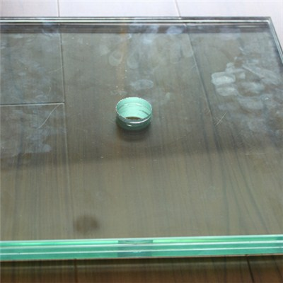 Laminated Glass With Polished Edges Finished