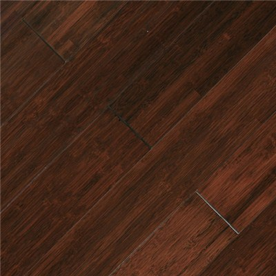 Dasso Solid Bamboo Flooring, Horizontal Carbonized , With Brown Color stained BHC3-B