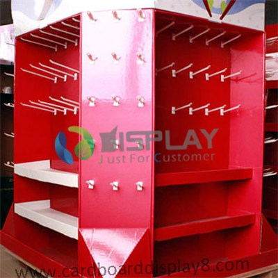 Gift cards cardboard pallet display rack with peg hooks cardboard gift cards cardboard pallet display rack with peg hooks cardboard greeting card displays m4hsunfo