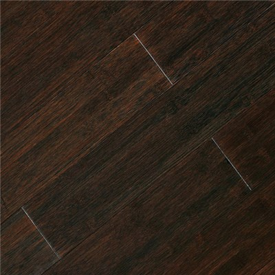 Dasso Solid Bamboo Flooring , Horizontal Carbonized , Black color stainedBHC3-BL