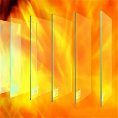 Fireproof tempered glass