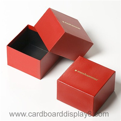 High Quality Logo Gold Foil Stamping Small Gift Box Packaging