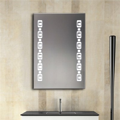 Aluminium Bathroom LED Light Mirror (GS060)