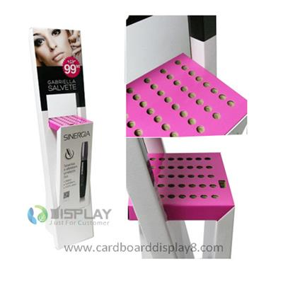 New Design Exhibition Floor Cosmetic Cardboard Displays