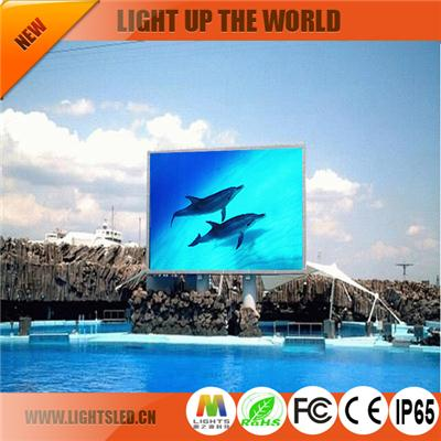 p8 outdoor full color  largest led screen
