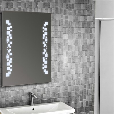 Aluminium Bathroom LED Light Mirror (GS057)