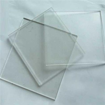 Tempered Low Iron Patterned Glass