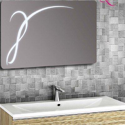 Aluminium Bathroom LED Light Mirror (GS056)