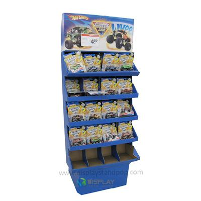 Modern Hot Sale Supermarket Cardboard Exhibition Stands For Cracker