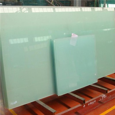 Tempered bullet Proof glass