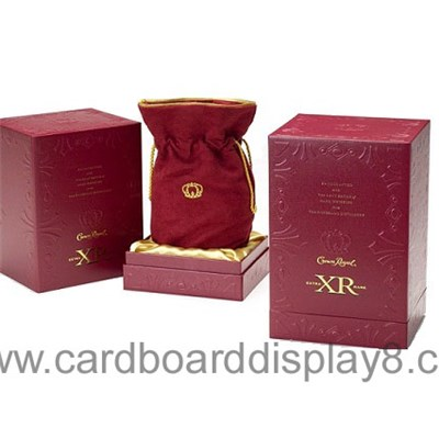 Different Specifications Corrugated Cardboard Gift Wine Box