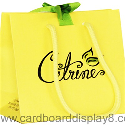 Colorful Printing Custom Paper Gift Bag With Logo Printing Wholesale