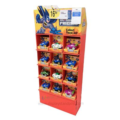 OEM Cardboard Floor Displays with 5 Shelves for Toy Promotion