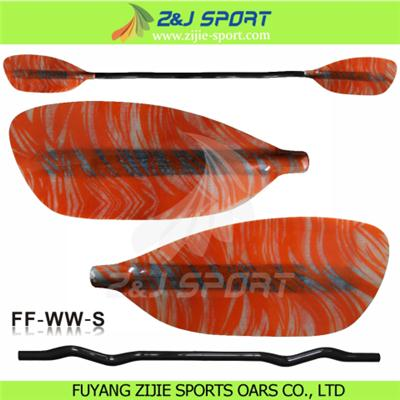 R1090 Fancy Fiberglass Whitewater Paddle