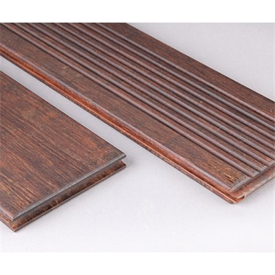 DassoXTR outdoor bamboo decking, wave& smooth surface, reversible , symmetrical BSWO-S+W