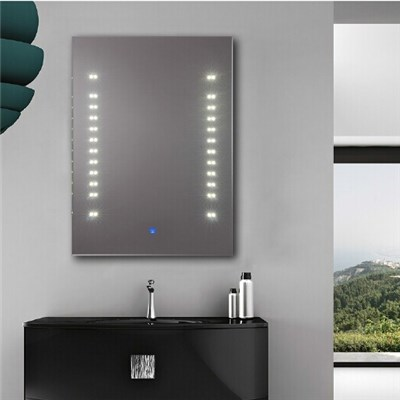 Aluminium Bathroom LED Light Mirror (GS001)